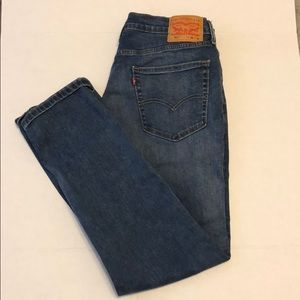 Levi's 511 slim fit selvedge stretch jeans